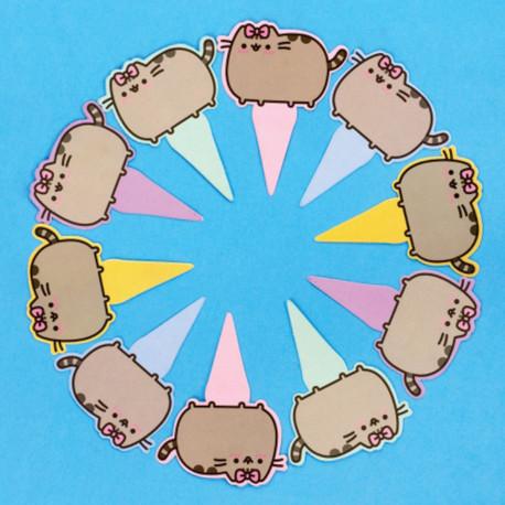 Marques-Gâteaux Pusheen - Lot de 10