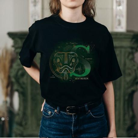 T-Shirt Phosphorescent Harry Potter Serpentard
