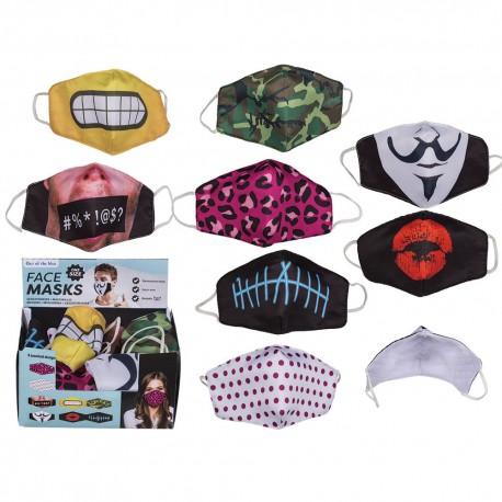 Pack de 24 Masques Fantaisie et Humoristiques