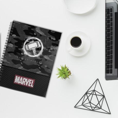 Carnet Spirales A5 Thor Marvel
