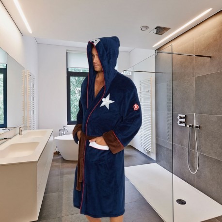 Peignoir Captain America Marvel