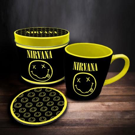 Boîte Cadeau Nirvana avec Mug et Sous-Verre
