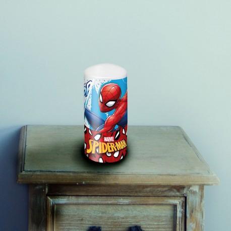 Lampe Veilleuse Tube Spiderman