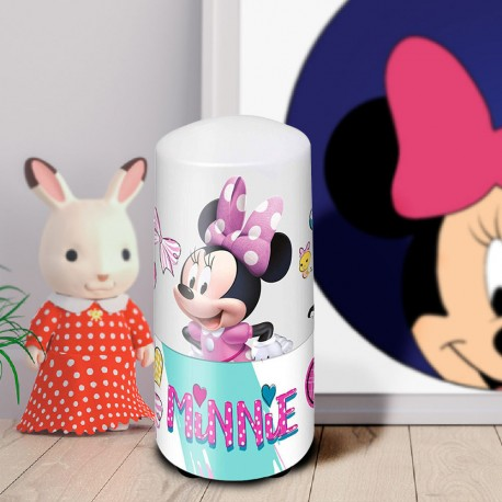 Lampe Veilleuse Tube Minnie Disney