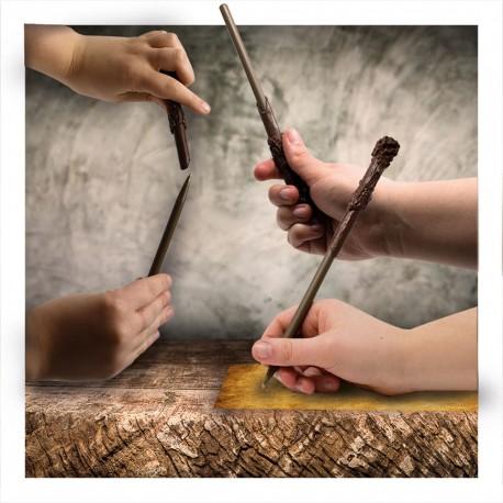 Set Stylo et Crayon Baguettes Magiques Harry Potter