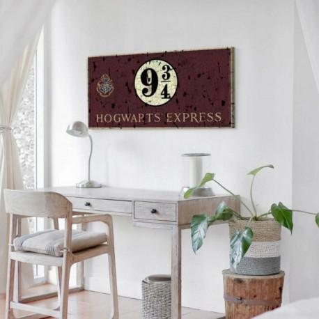 Impression sur Toile Harry Potter - 100 x 50 cm