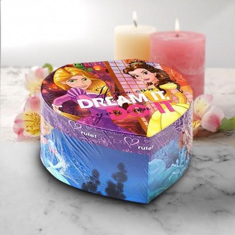 Boîte à Bijoux Cœur Princesses Disney