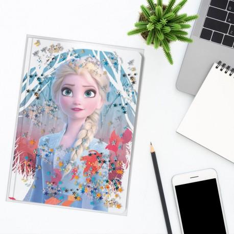 Journal Intime La Reine des Neiges 2 avec Effet d'Eau