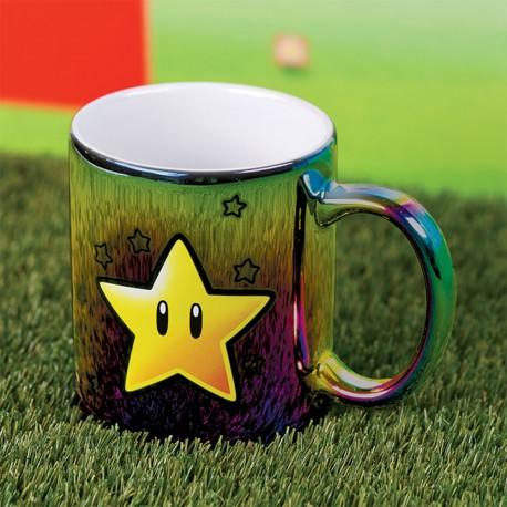 Mug Métallique Etoile Super Mario Bros Nintendo