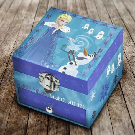Boîte à Bijoux La Reine des Neiges à Tiroirs