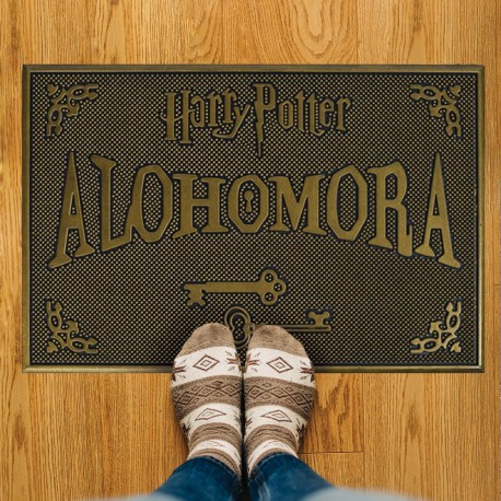 Paillasson Caoutchouc Harry Potter Alohomora