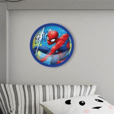 Veilleuse Poussoir Spiderman Marvel