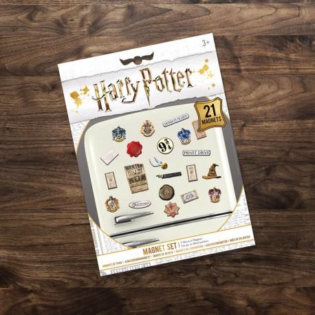 Aimants pour Frigo Harry Potter - Lot de 21