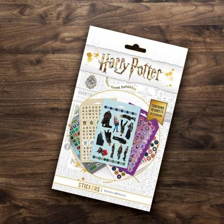 Planches de 800 Stickers Harry Potter