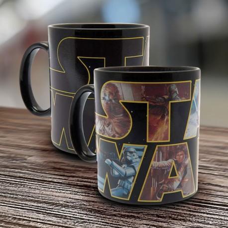 Mug Thermoréactif Logo Star Wars