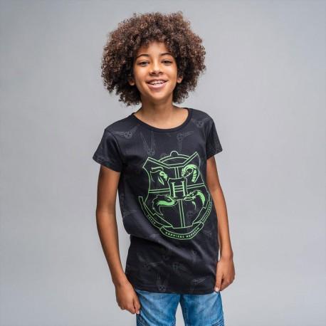 Pack de 6 T-Shirts Enfant Harry Potter Poudlard Phosphorescents