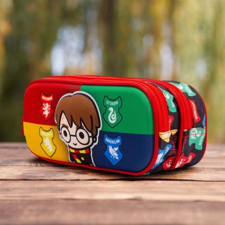 Trousse Double Harry Potter Chibi 3D