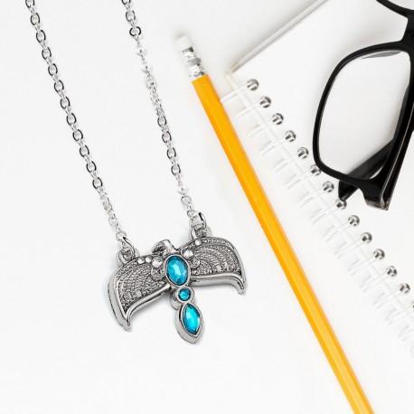 Collier Harry Potter Fumseck - Diadème de Rowena Serdaigle
