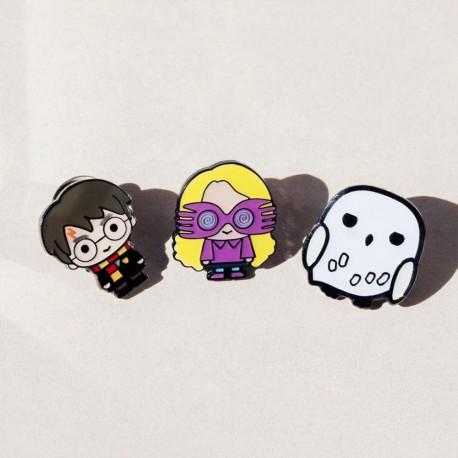 Badge Luna Lovegood Chibi Harry Potter