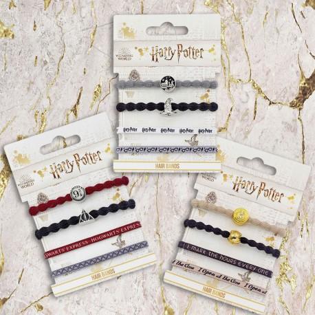 Elastiques Harry Potter - Lot de 4